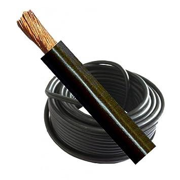 Soldadura Cable Batería Live 500 Amp Medidor de 70 mm Negro Flexible por Mig soldadora de arco: Amazon.es: Coche y moto