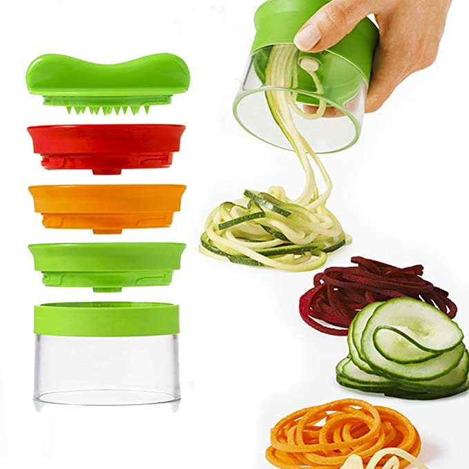 14 opinioni per Spiralizzatore di verdure- Spiralizzatore Affetta Verdure Spaghetti, Qualità