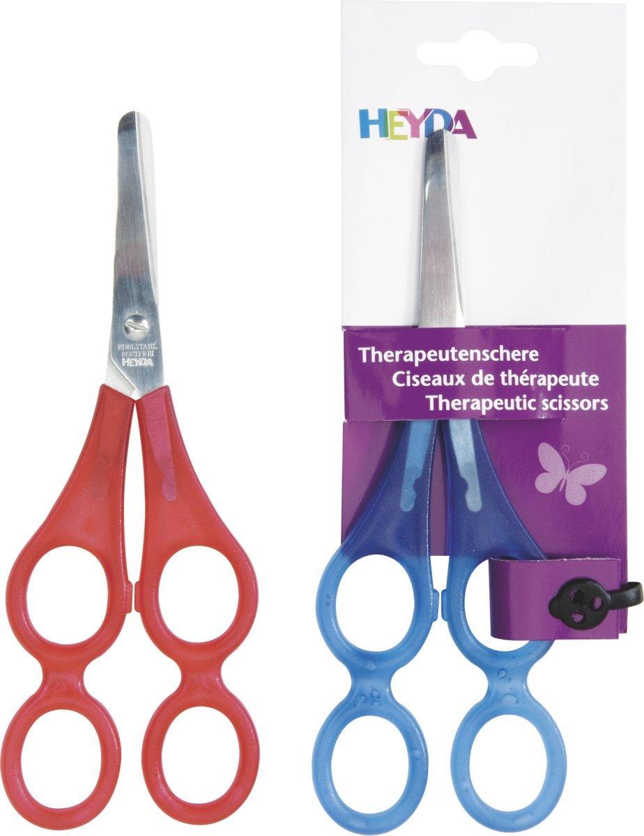 Heyda 204889521 Therapeutenschere 17 cm rund