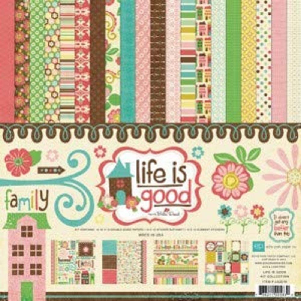 Echo Park Paper Life is Good Collection Kit