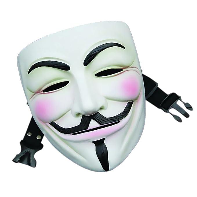 V Película De Resina De La Máscara De La Venganza De Halloween Cosplay Partido Masque Favorecer