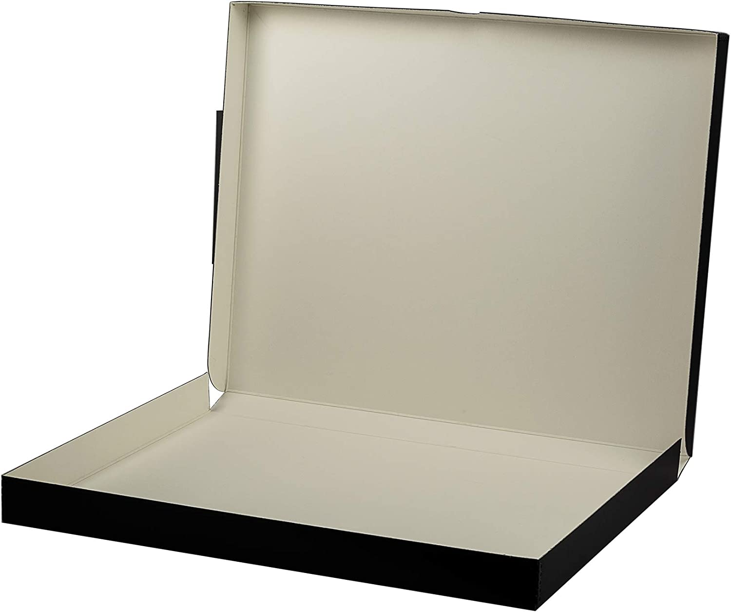 Lineco Grey 18x24 Clamshell Box 18.5 x 24.5 x 1.75 Store Photos or Documents Cards Prints Archival with Metal Edge.for Picture Longevity Magazines Wedding Dress DIY. Crafts