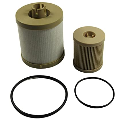 carmocar for ford 6 0l 2003-2007 4604 diesel fuel filter pack includes  lower lifter