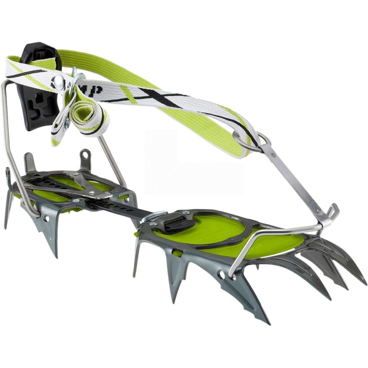 CAMP C12 Semi-Automatic Crampons - Green