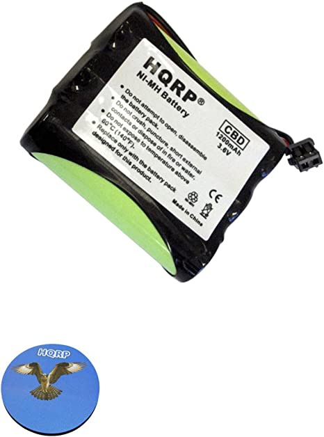 Replacement for RadioShack TAD-726 Battery Compatible with RadioShack Cordless Phone Battery 1200mAh 3.6V NI-MH
