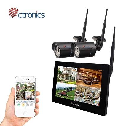 Camera De Surveillance Sans Fil Exterieur Avec Moniteur