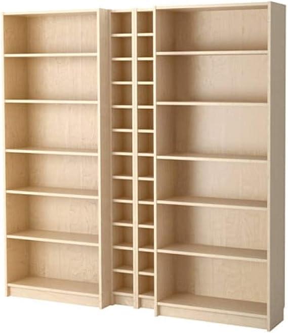IKEA Billy/Gnedby 090.234.03 - Estantería de abedul (tamaño ...