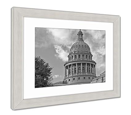 Amazon.com: Ashley Framed Prints Austin Capitol Building, Wall Art ...