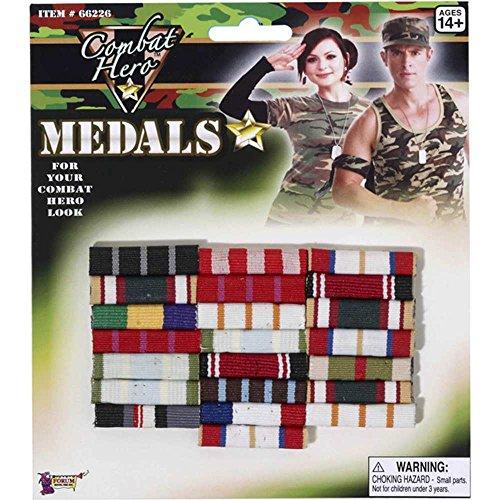 Forum Novelties Combat Hero Medal