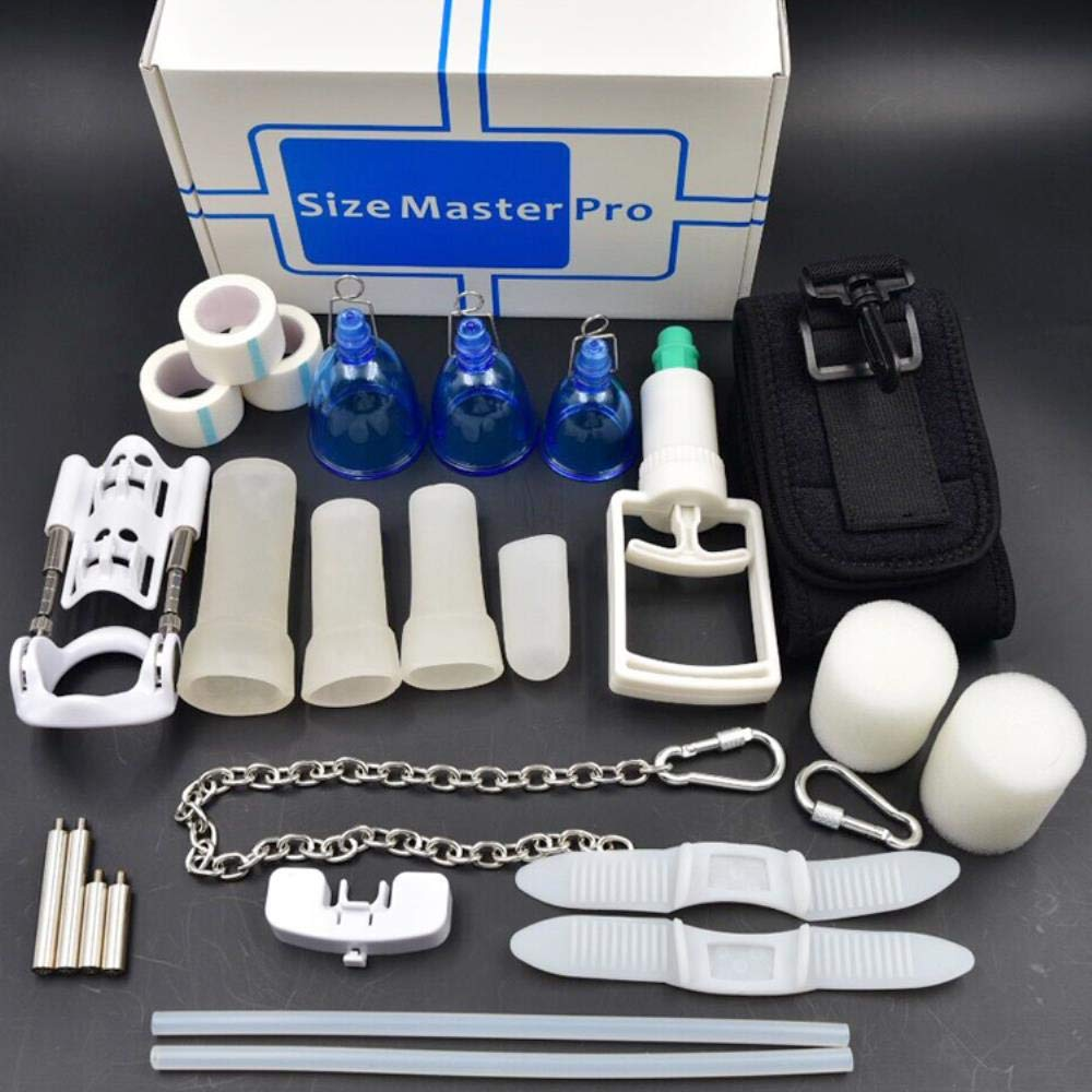 Super Top edtion Deluxe Extension Size Master Max Pro Extender Physical Vacuum Penis Enlargement System Sizemster Sex Toys