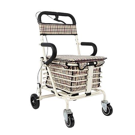 Carro de Compras para Ancianos/Vehículo recreativo/Andador ...