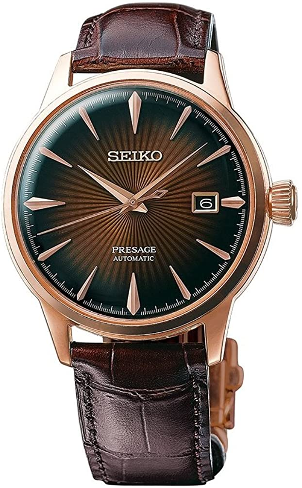 Seiko SRPB46 Mens PRESAGE Automatic Watch w Date