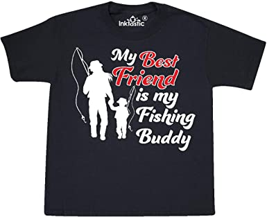 inktastic My First Fishing Trip with My Mom Baby T-Shirt