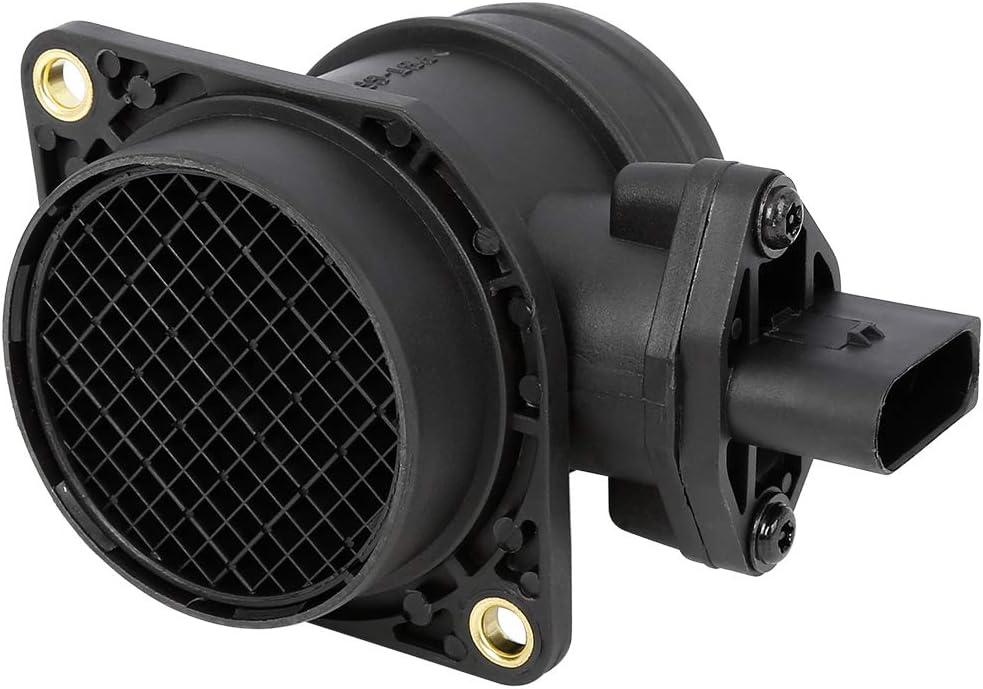 X AUTOHAUX Car Mass Air Flow Sensor Meter MAF Sensor Replacement for Volkswagen Beetle 2002-2004 06A906461G
