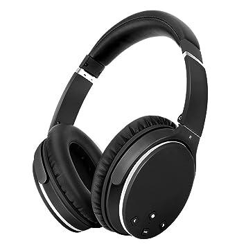 Auriculares Bluetooth Inalámbricos Cancelacion Ruido Activa -Srhythm NC25- Noise Canceling Cascos Super Ligero 180g