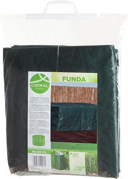 Catral 57010033 Funda de Mesa Baja para Exterior, Verde, 50x100x60 cm: Amazon.es: Jardín
