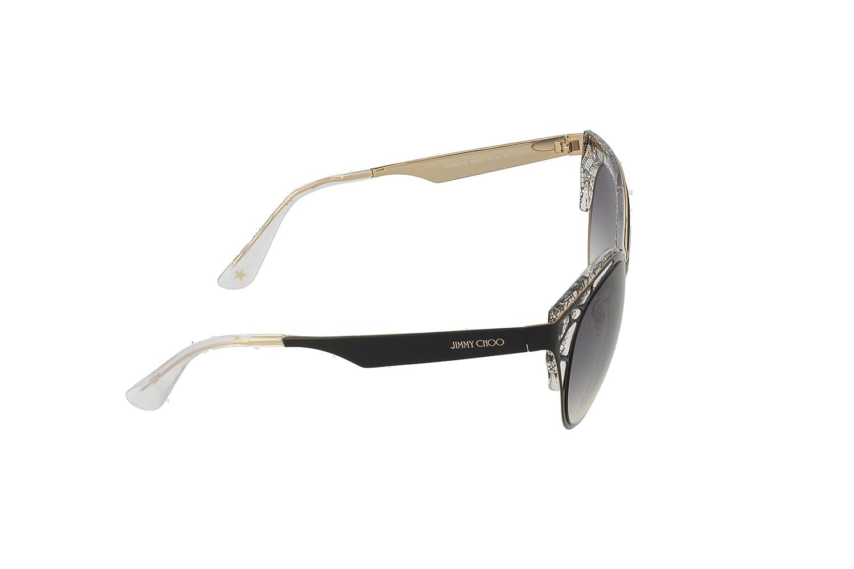 5e1835803949 JIMMY CHOO Women's Estelle/S LF ENY 55 (55 mm) Sunglasses, Black:  Amazon.co.uk: Clothing