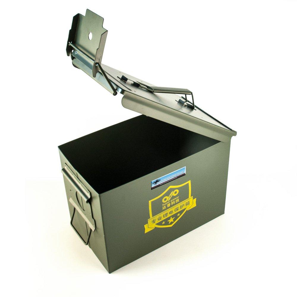 DROHNENSTORE24.DE ...DER DROHNEN-GURU DS24 Sicherheits Transportkoffer für LiPo Akkus Akkus LiPo - Koffer für Lithium-Polymer-Akkus 4a9932