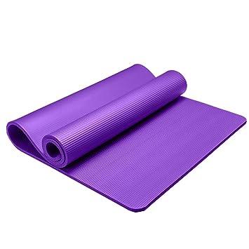 Zhiniu Alfombra de Yoga Antideslizante, Espesor para ...