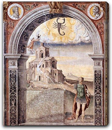 Sign of Scorpio by Giovanni Maria Falconetto - 15