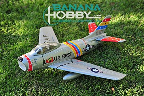 3 CH BlitzRCWorks Mini F-86 Sabre V2 w/ Gyro RC EDF Jet PNP
