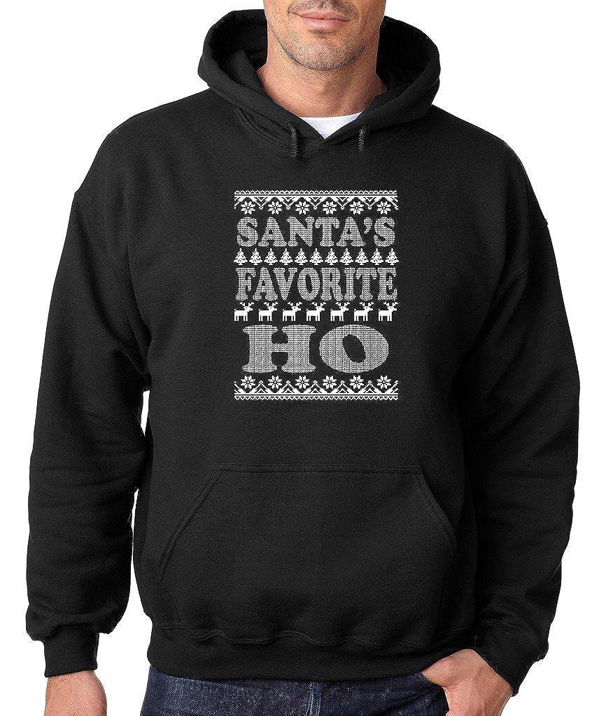 VISHTEA Santas Favorite Ho Ugly Sweater T-Shirt Christmas Funny Xmas Gift Shirts