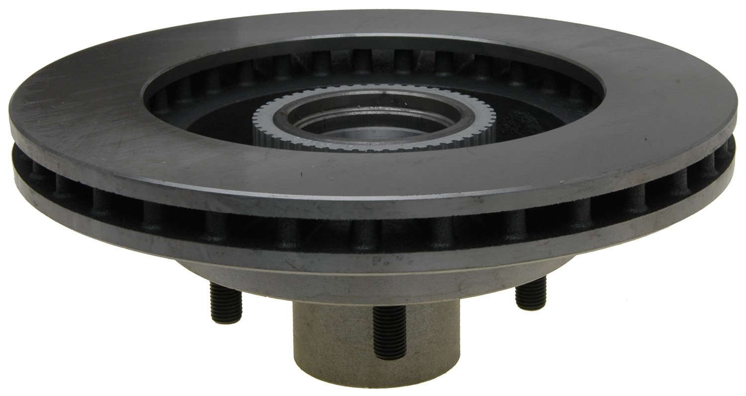 ACDelco 18A878A Advantage Non-Coated Front Disc Brake Rotor and Hub Assembly