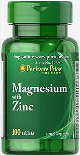 Magnesio con zinc 100 Comprimidos