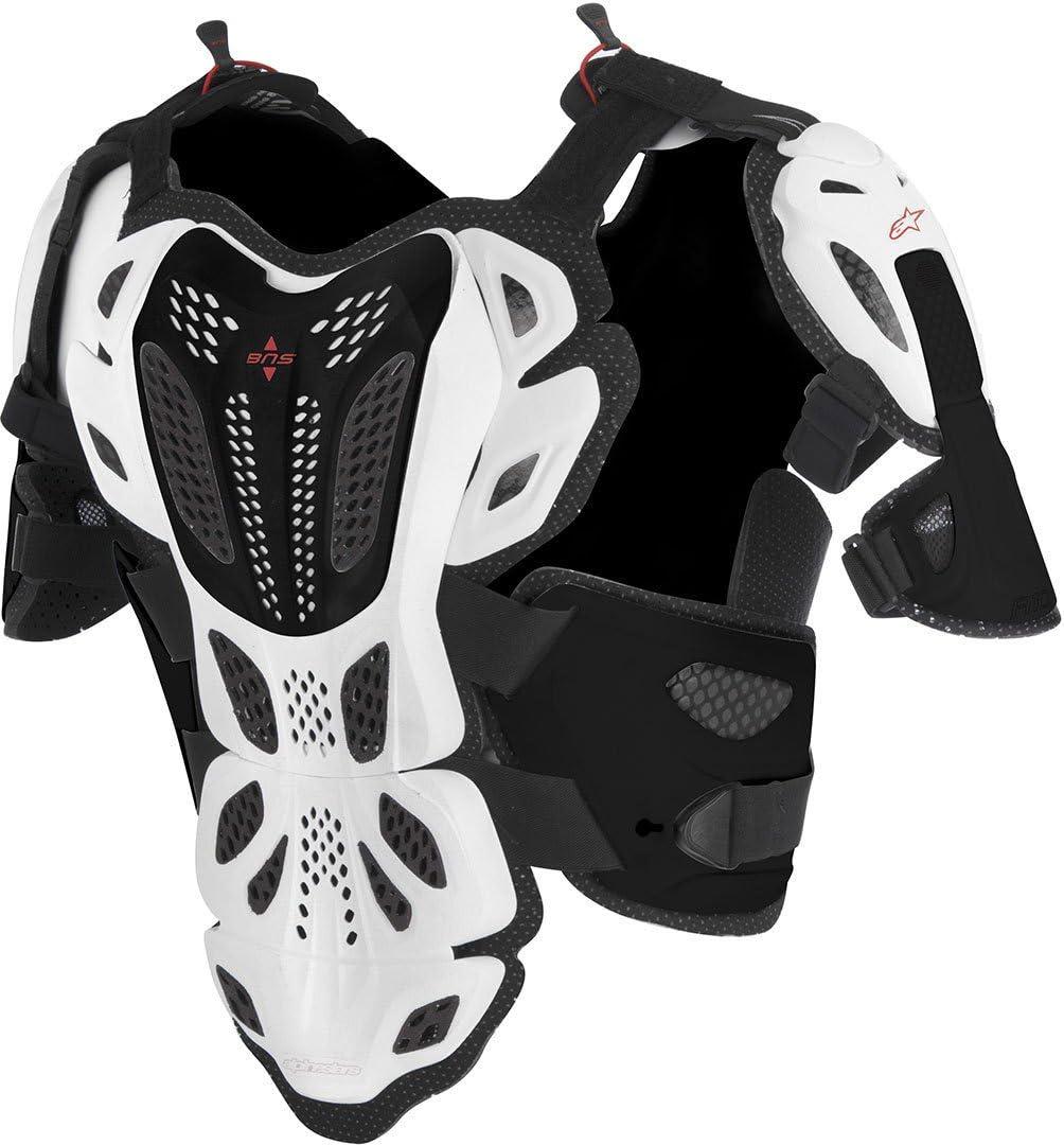Xl//Xxxxl, Negro Alpinestars Protector De Pecho Mx Bionic Negro-Gris
