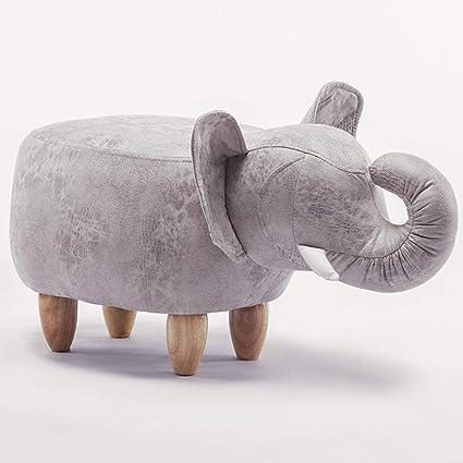 Amazon.com: FLYSXP Elephant Hall Salon Stool Creative Sofa ...