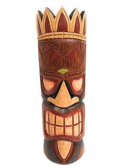 amazon com money tiki mask 20 hawaiian decor ksa902550 home