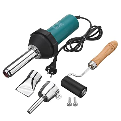 1080W Plastic Hot Air Welding Welder Heat Hot Gas Tools Kit with Rod ...