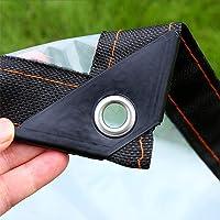 Tarpaulin Transparent Thick Polyethylene, Waterproof Plastic Tarpaulin, Foldable Tear Resistance PVC Plastic,for Outdoor Garden Rain Protection (Color : Clear, 120G/M²)