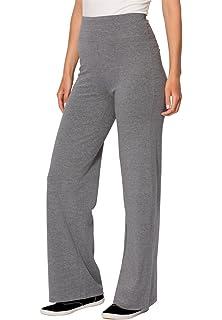 7228b2a8acf Woman Within Plus Size Wide Leg Ponte Knit Pant at Amazon Women s ...