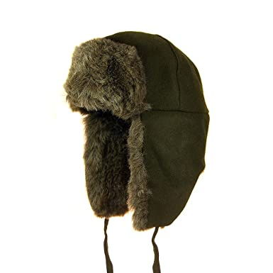 621e19e6 Kangol Ushanka Trapper Hat - Loden Loden X-LARGE: Amazon.co.uk: Clothing