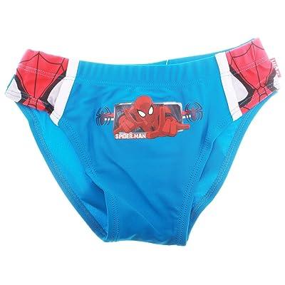 Slip de bain enfant garçon Spider-man Bleu et Marine de 3 à 8 ans