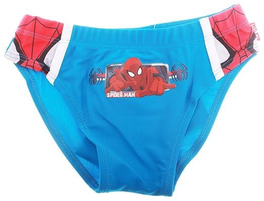 pas mal différemment meilleur endroit Slip de Bain Enfant garçon Spider-Man Bleu et Marine de 3 à 8 Ans