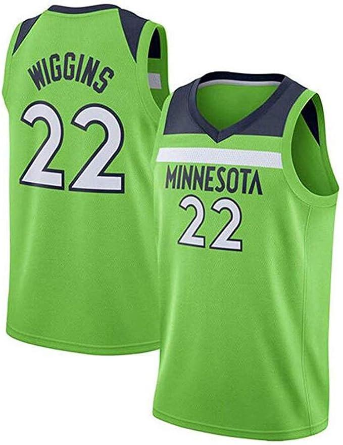 Andrew Wiggins # 22 Camiseta De Baloncesto De Los Hombres - NBA ...