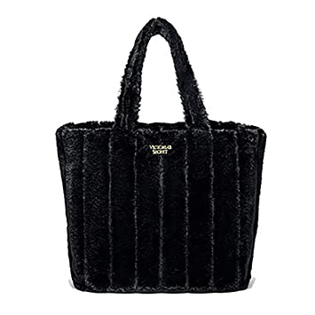 760e57277af4 Amazon.com  Victoria s Secret Faux Fur Carryall Tote Bag Limited Edition  B  and C Boutique
