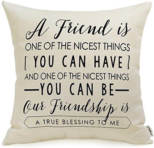 Meekio Friendship Decorative Pillow Covers