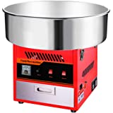 Clevr Large Commercial Cotton Candy Machine Party Candy Floss Maker Red