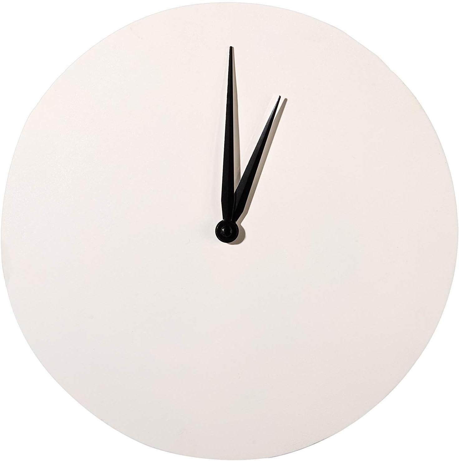 Glorex GmbH GLOREX Horloge Ronde en Bois FSC Naturel 30/x 30/x 2/cm