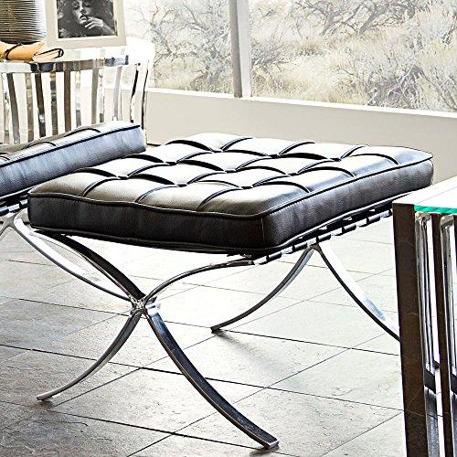 Cordoba Storage Ottoman - Diamond Sofa Cordoba Tufted Ottoman in Black