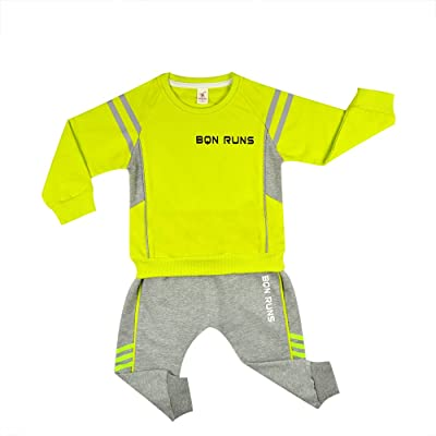 CPlan Baby Boys Long Sleeve Sports Clothes T Shirt Tops Pants Set Kids Outfits