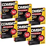 #5: Combat Roach Killing Bait, Large Roach Bait Station, 8 Count (Pack of 6)