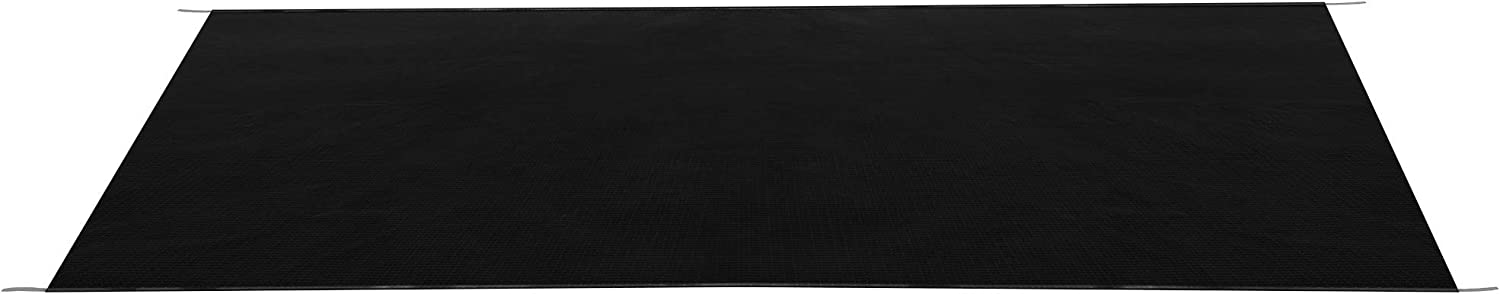 Black 46 x 110 Fabric Only RecPro RV Slide Out Awning RV Slide Topper Slideout Awning