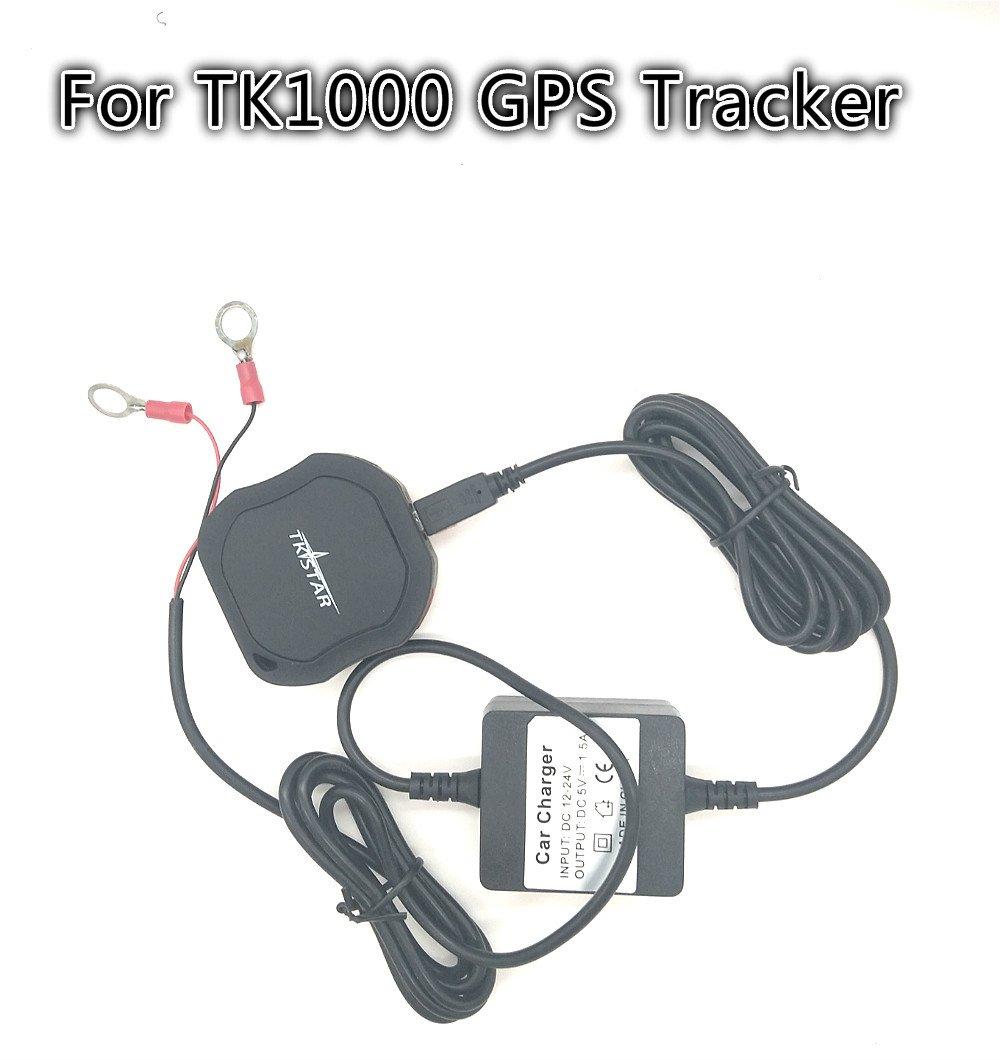 Cargador de autom/óvil convertidor de voltaje de inversor de transformador de autom/óvil automotriz 12V y 24V en 5V para el puerto micro USB y el rastreador de GPS tk905 tk915 tk102b tk906 tk907b