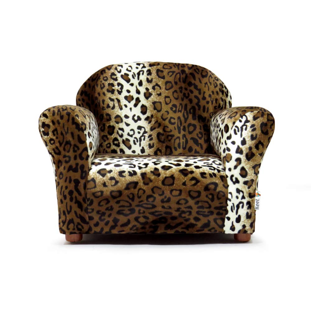 Groovy Keet Roundy Faux Fur Childrens Chair Leopard Gmtry Best Dining Table And Chair Ideas Images Gmtryco