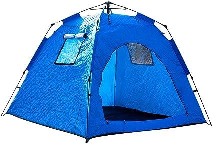 VEVOR Refugios de Pesca en Hielo Tienda de Pesca de Invierno Tienda de Refugio Port/átil Impermeable Carpa Tienda de Pesca de Hielo para 4 Personas Color Azul