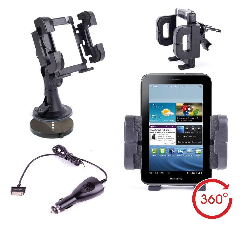 Duragadget - Soporte de coche para Samsung Galaxy Tab 7.0 Wi ...